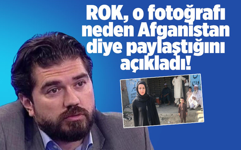 Rasim Ozan Kütahyalı, Nagehan Alçı'nın fotoğrafını neden Afganistan diye paylaştığını açıkladı!