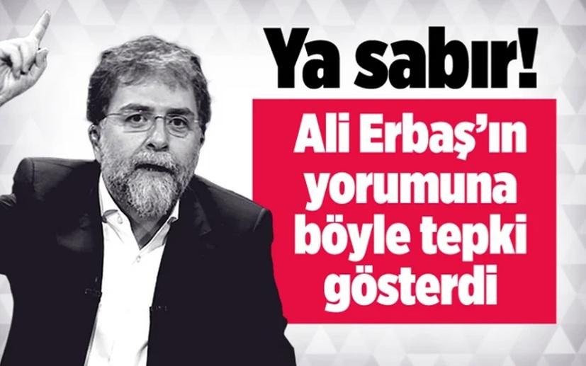 Diyanet İşleri Başkanı Ali Erbaş söyledi Ahmet Hakan 'ya sabır' dedi
