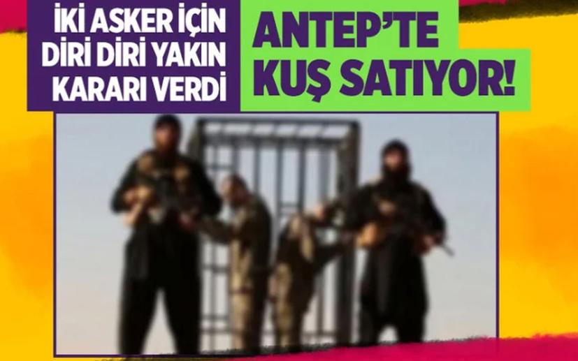 İki Türk askerinin diri diri yakılması fetvasını veren IŞİD kadısı Gaziantep'te! Tutuksuz yargılanıyor