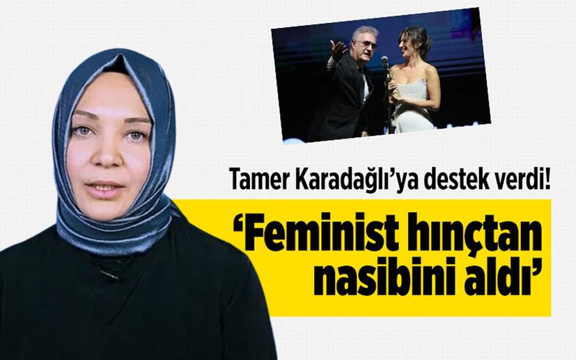 Hilal Kaplan'dan Tamer Karadağlı'ya destek! 'Feminist hınçtan nasibini aldı'