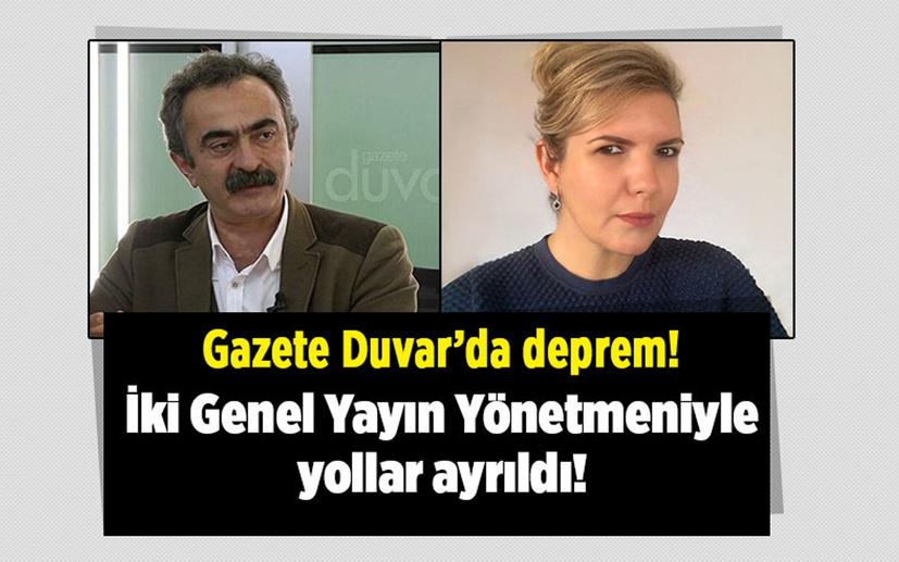 Gazete Duvar'da deprem! İki Genel Yayın Yönetmeni'yle yollar ayrıldı