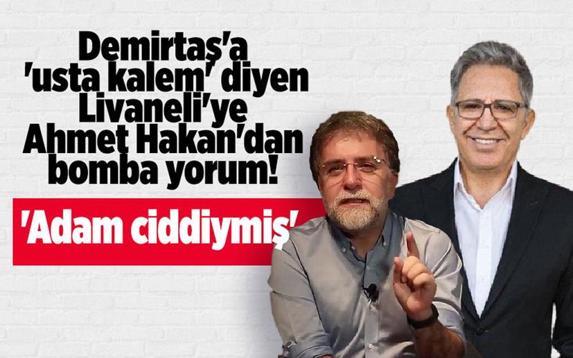 Zülfü Livaneli Selahattin Demirtaş için 'edebiyatımızın usta kalemi' dedi Ahmet Hakan: Adam ciddiymiş