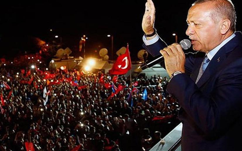 Recep Tayyip Erdoğan kazandı