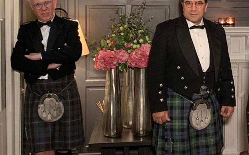 Ertuğrul Özkök'ten İskoç eteğiyle #7yearschallenge