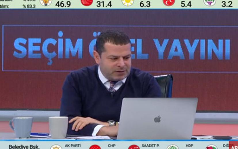 Cüneyt Özdemir'in Seçim 2019 yayını rekor kırdı:  Ciddi işlerin de karşılığı varmış demek ki...