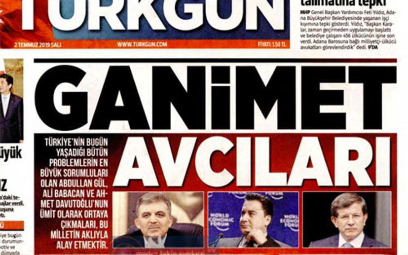 MHP'nin gazetesinden yeni parti hareketine sert manşet: Ganimet Avcıları