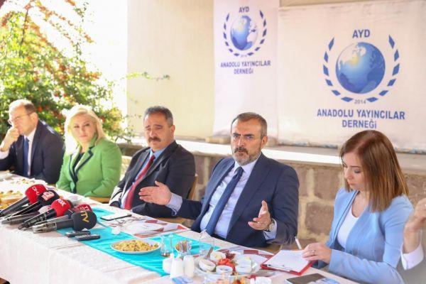 AK Parti Genel Başkan Yardımcısı Mahir Ünal'dan Anadolu Yayıncılar Derneği'ne ziyaret - Sayfa 2
