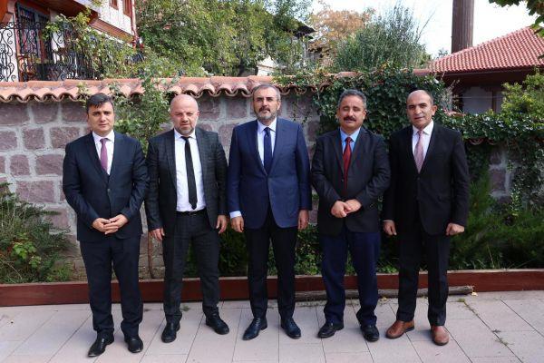 AK Parti Genel Başkan Yardımcısı Mahir Ünal'dan Anadolu Yayıncılar Derneği'ne ziyaret - Sayfa 4