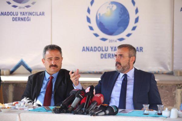 AK Parti Genel Başkan Yardımcısı Mahir Ünal'dan Anadolu Yayıncılar Derneği'ne ziyaret - Sayfa 1