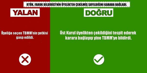 Faruk Bildirici'nin üyeliğinin hukuksuz  düşürülmesi iddiasına RTÜK'ten yanıt - Sayfa 2