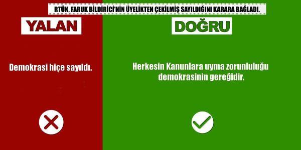 Faruk Bildirici'nin üyeliğinin hukuksuz  düşürülmesi iddiasına RTÜK'ten yanıt - Sayfa 3
