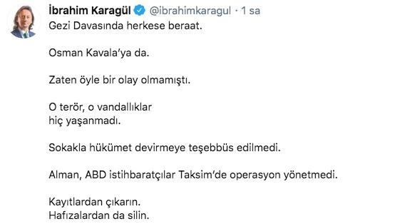 Gezi Parkı davasında Osman Kavala ve diğer sanıklara verilen beraat kararlarına kim ne dedi? - Sayfa 1