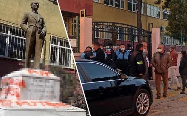Tekirdağ'da Atatürk heykeline saldırı! İçişleri Bakanı Süleyman Soylu duyurdu provokatör yakalandı - Sayfa 3