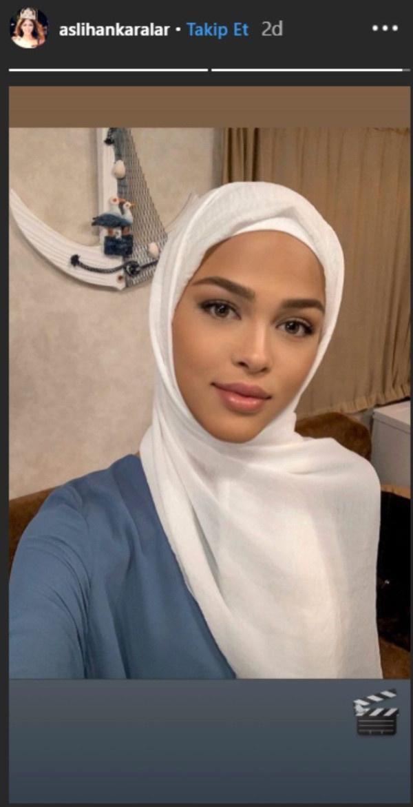 Best Model of Turkey birincisi Aslıhan Karalar tesettüre girdi! Sosyal medya sallandı - Sayfa 3